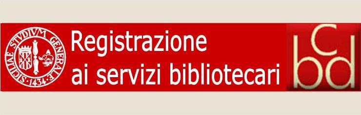 Registrazione ai servizi bibliotecari